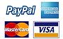 aceitamos cartão crédito paypal