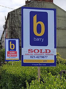 Barry - Sold and Sale Agreed signpost