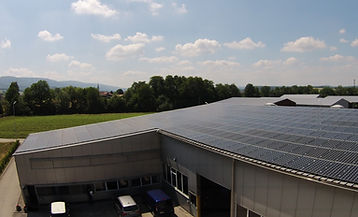 Panneaux solaires, installation solaire, Entreprise Cardicchi SA découpe laser découpe jet d'eau