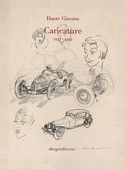 Dante Giacosa - Caricature