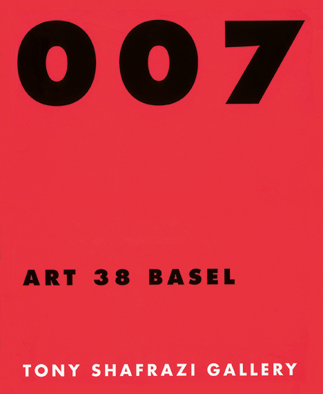 007 - Art 38 Basel (Tony Shafrazy)