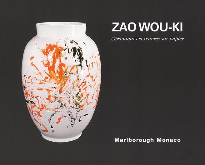 Zao Wou-Ki - Ceramiques et sur papier