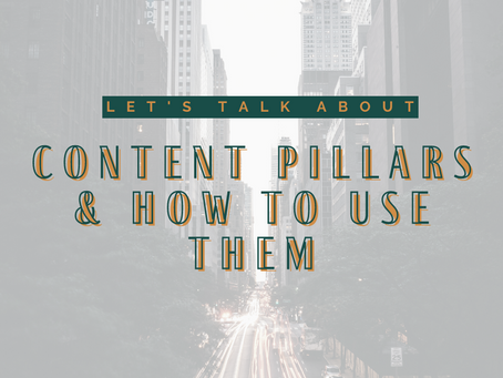 What Are Content Pillars? How Can You Use Them When Planning Social Media Content?