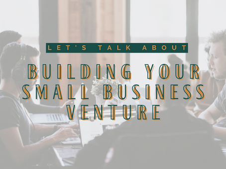 Succeed in Entrepreneurship: Tips for Building Your Small Business Venture