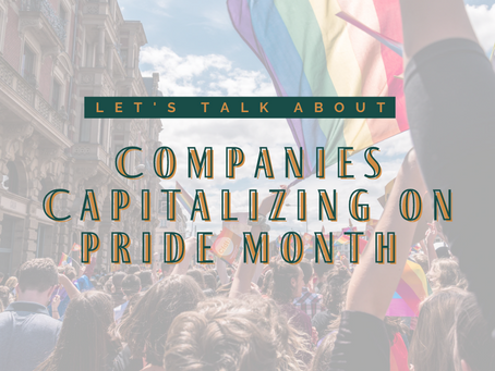 Activist and Podcaster Briona Jenkins Spills the Tea on Companies Capitalizing on Pride Month
