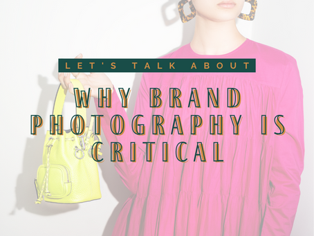 Why Brand Photography Is Critical In Building Brand Recognition