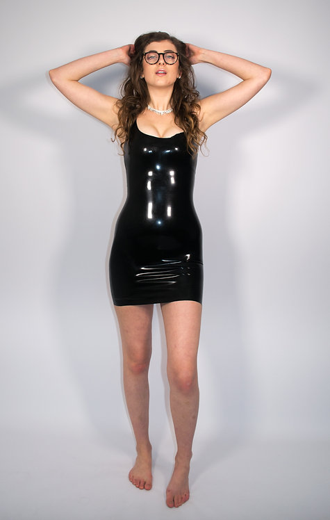 Latex Dress - Latex Tank Dress