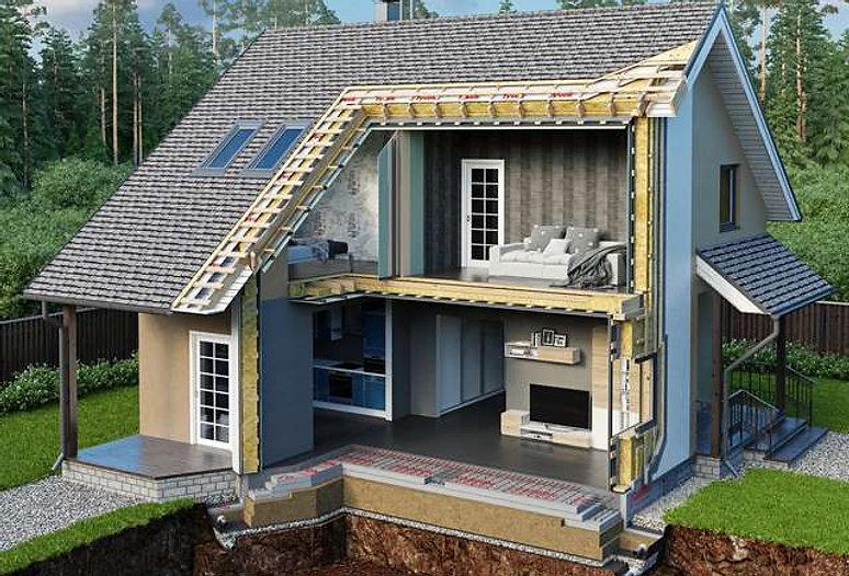Технология энергоэффективного карасного дома