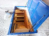 Удобная и безопасная лестница для погреба