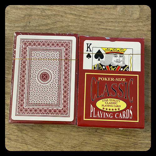 Poker Size Classic Playing Cards