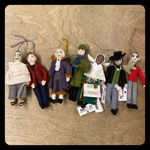 Famous Felt Friends Politicians, Peacemakers & Book Characters