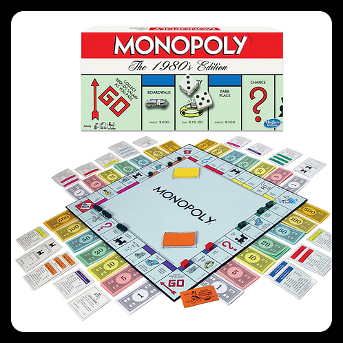 Monopoly 80's Edition
