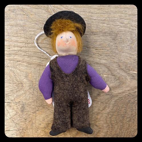 Gladys Boalt Little Boy Purple