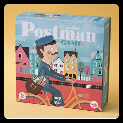 Postman Observation Game