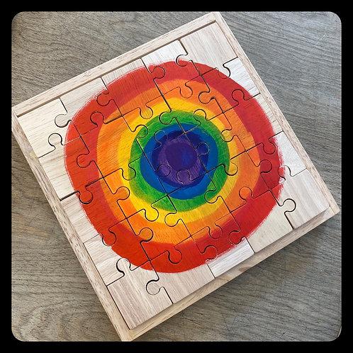 Large Moon Rainbow Puzzle