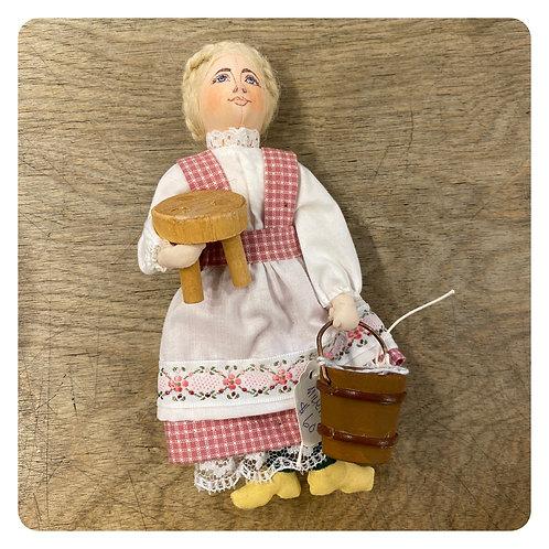 Gladys Boalt Milking Maid