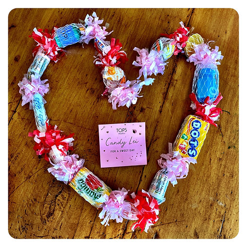 A Candy Lei For a Sweet Day