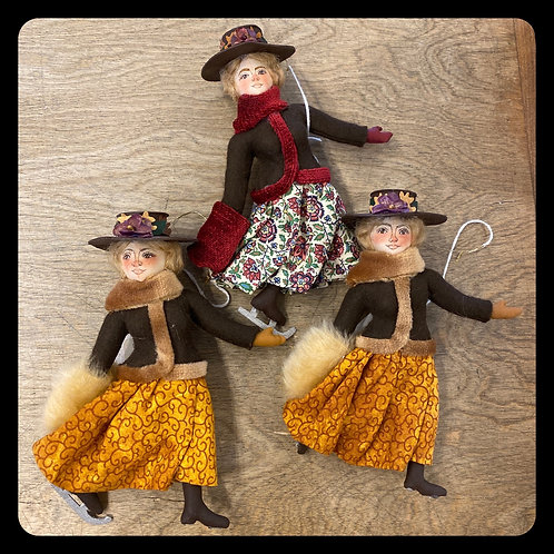 Gladys Boalt Lady Skaters