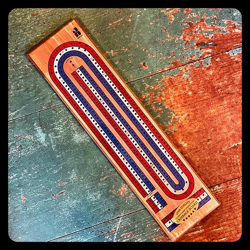Hansen Wooden Cribbage Board