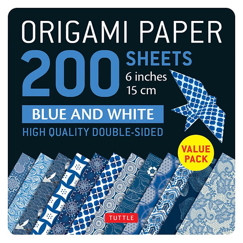 200 Origami Sheets