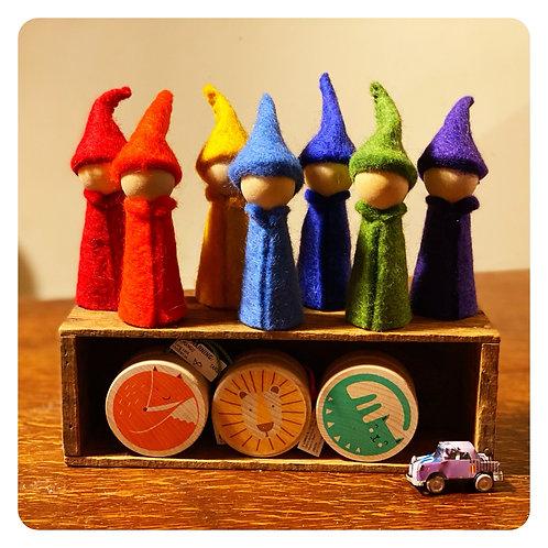 Woolen Peg Doll Gnome