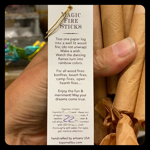 Tops Malibu Magic Fire Sticks