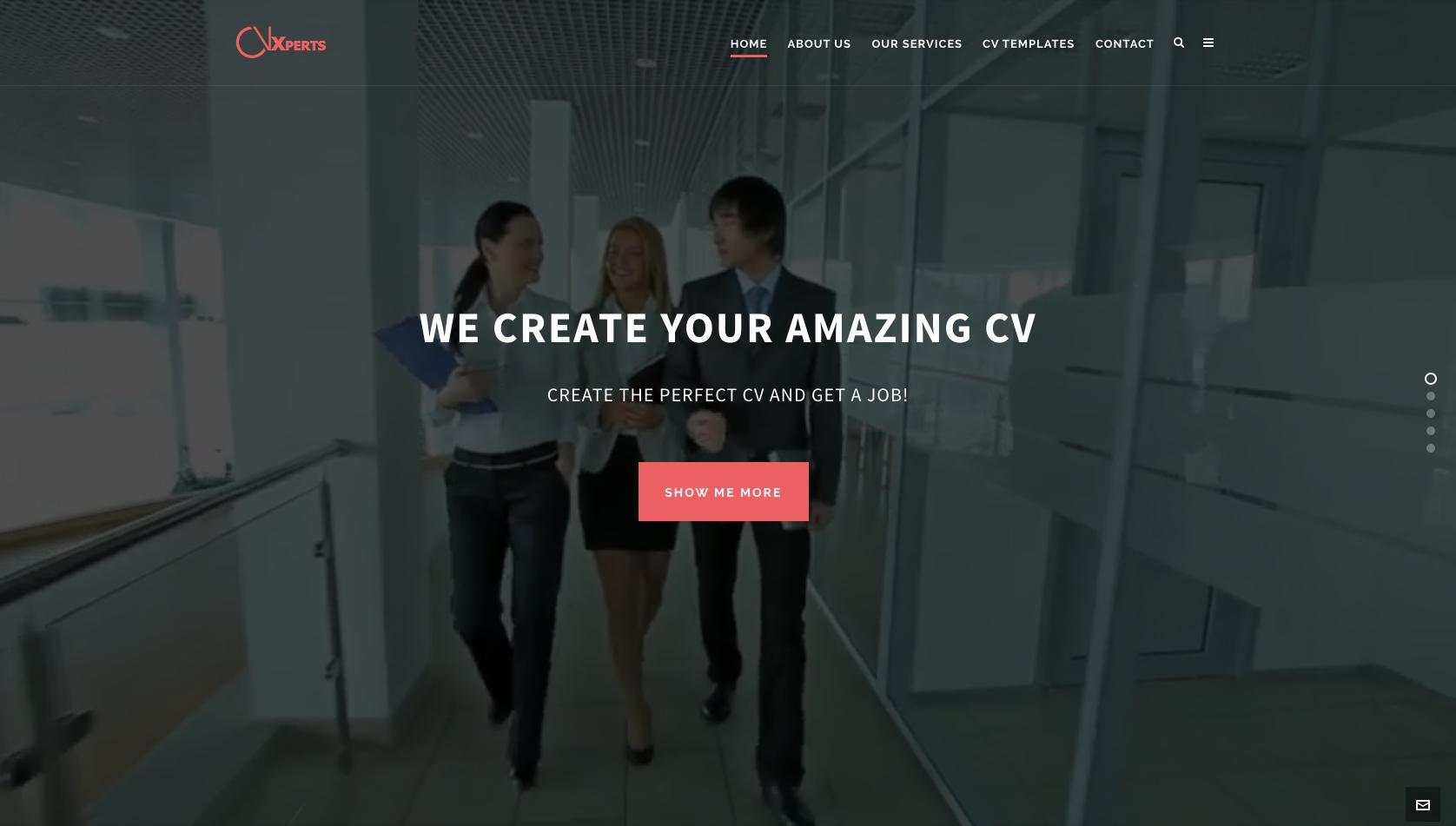 CV Xperts Site 2016