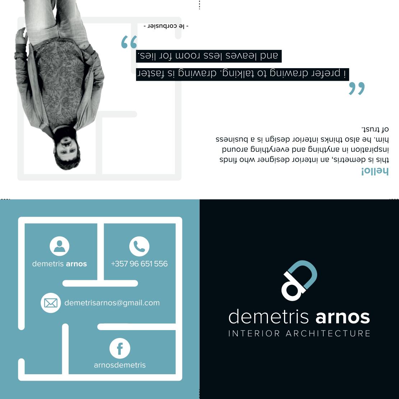 Demetris Arnos Leaflet