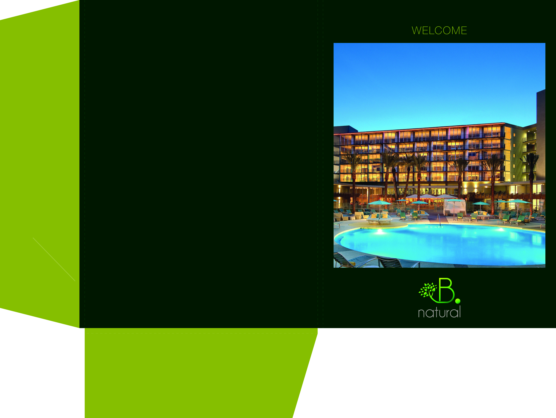 B•Natural Hotel Folder