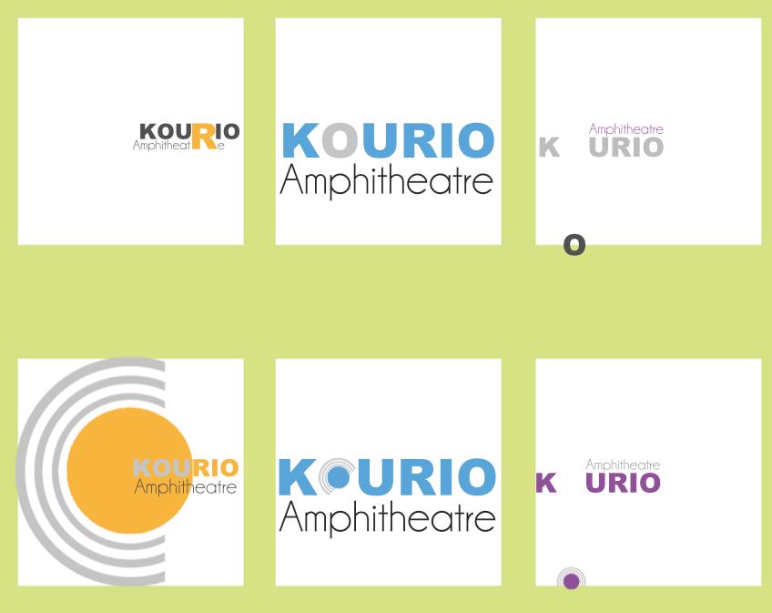 Kourio Amphitheatre Stamps
