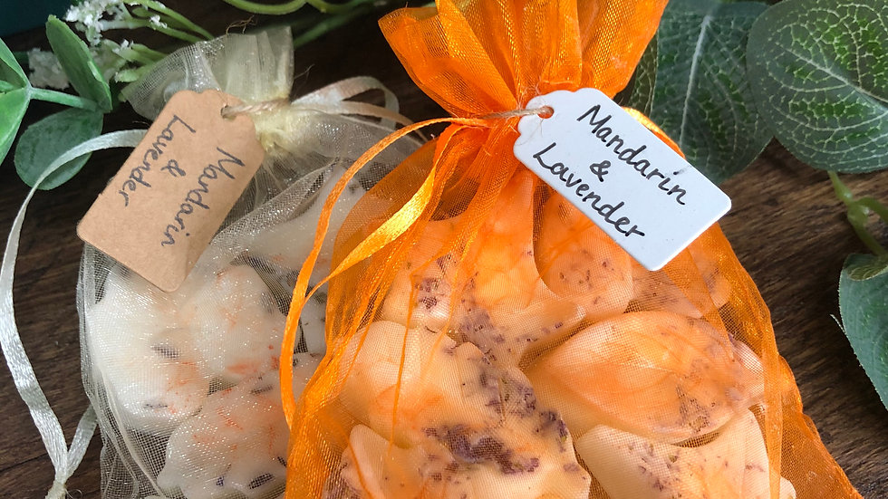 Mandarin & Lavender Organic Soy Wax Melts