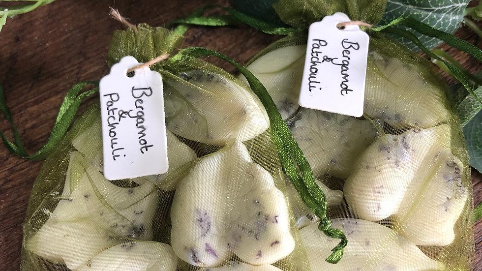 Bergamot & Patchouli Organic Soy Wax Melts