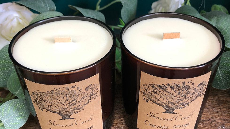 Chocolate Orange Organic Soy Wax Candle