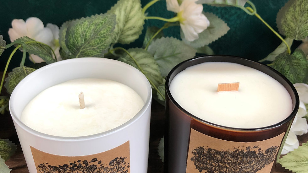 Lime & Musk Organic Soy Wax Candle