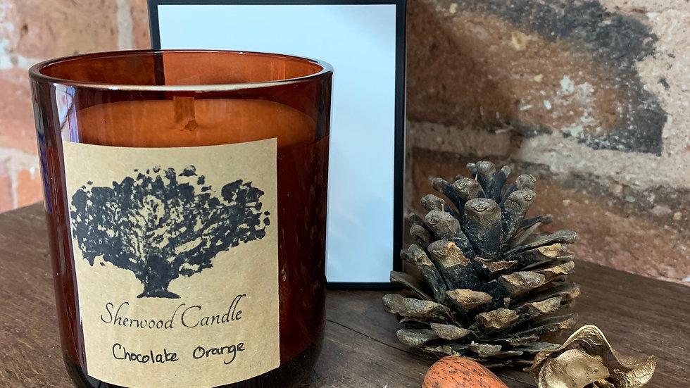 Chocolate Orange Organic Soy Candle