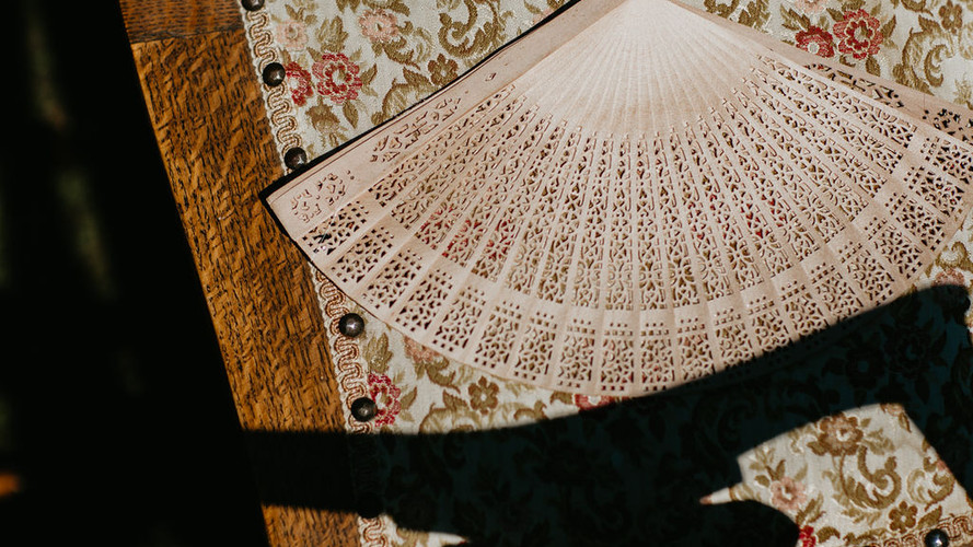 Fans & Floral Upholstery