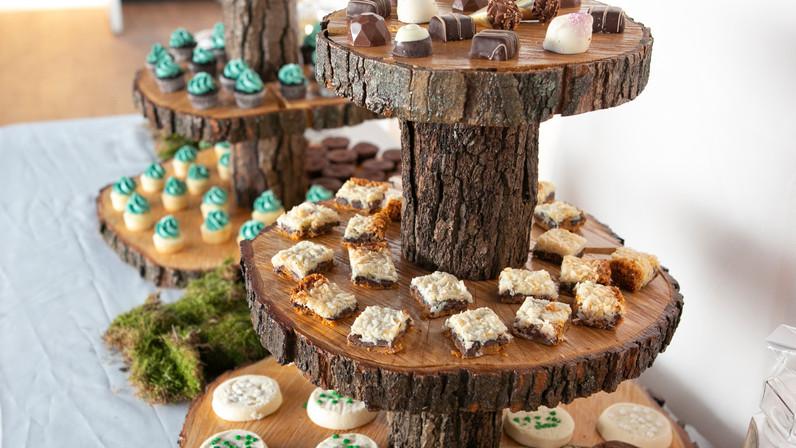 Tree Branch Dessert Tower