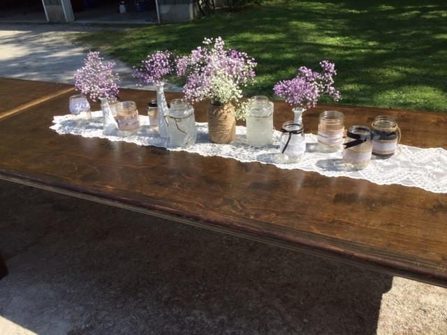 S&N_Mason Jars + Vintage Vases