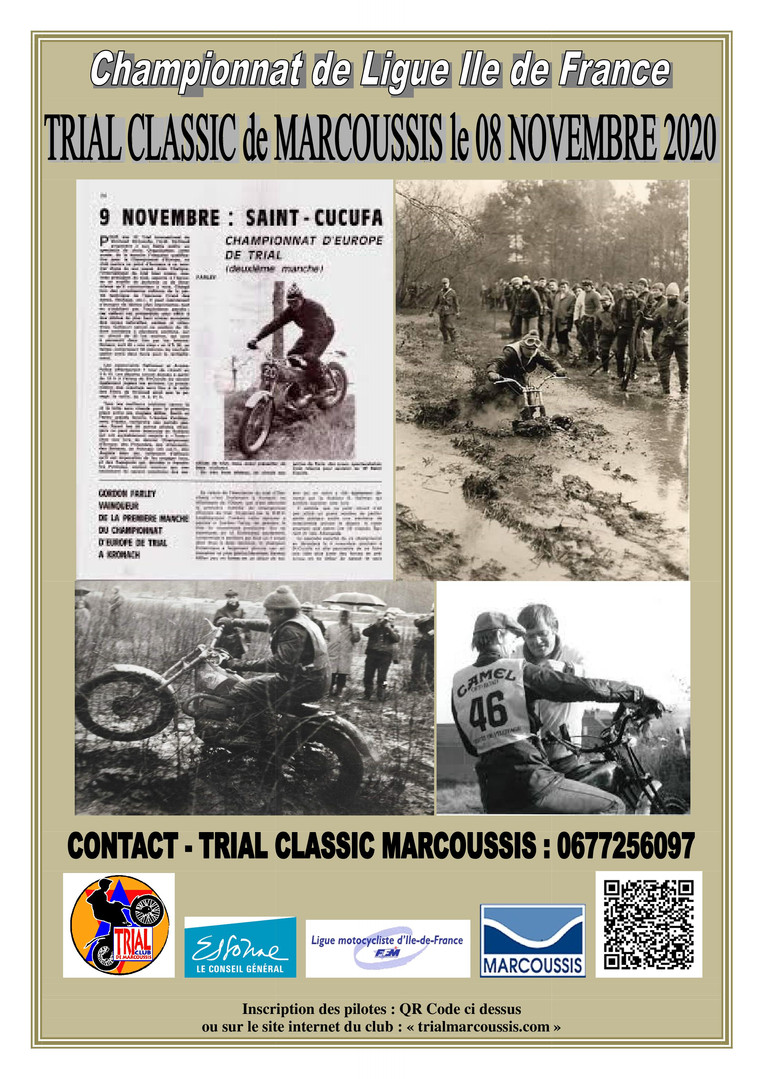 Trial Classic Marcoussis 08 11 2020 - QR