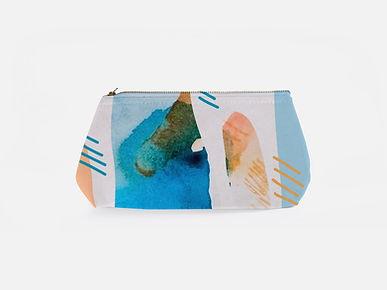 Печатная косметическая сумка