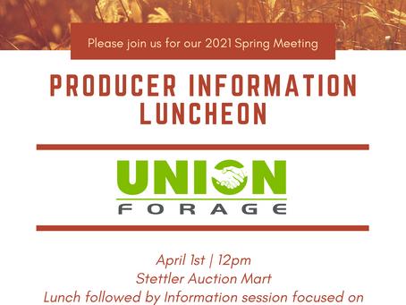 Union Forage