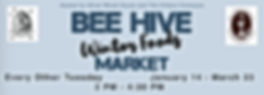 Bee Hive Winter Foods Market