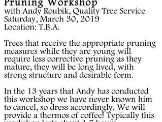 Pruning Workshop: Andy Roubik