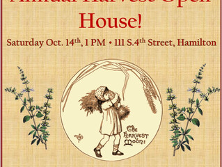 Annual Harvest Open House