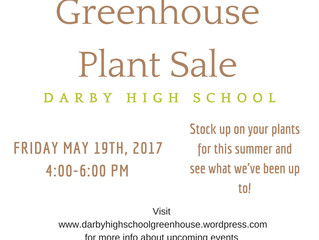 Darby Greenhouse Plant Sale