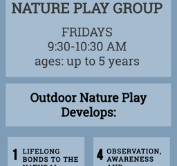 Tadpoles: Nature Play Group