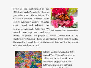'Pollinator Pathway' with Salmon Valley Stewardship