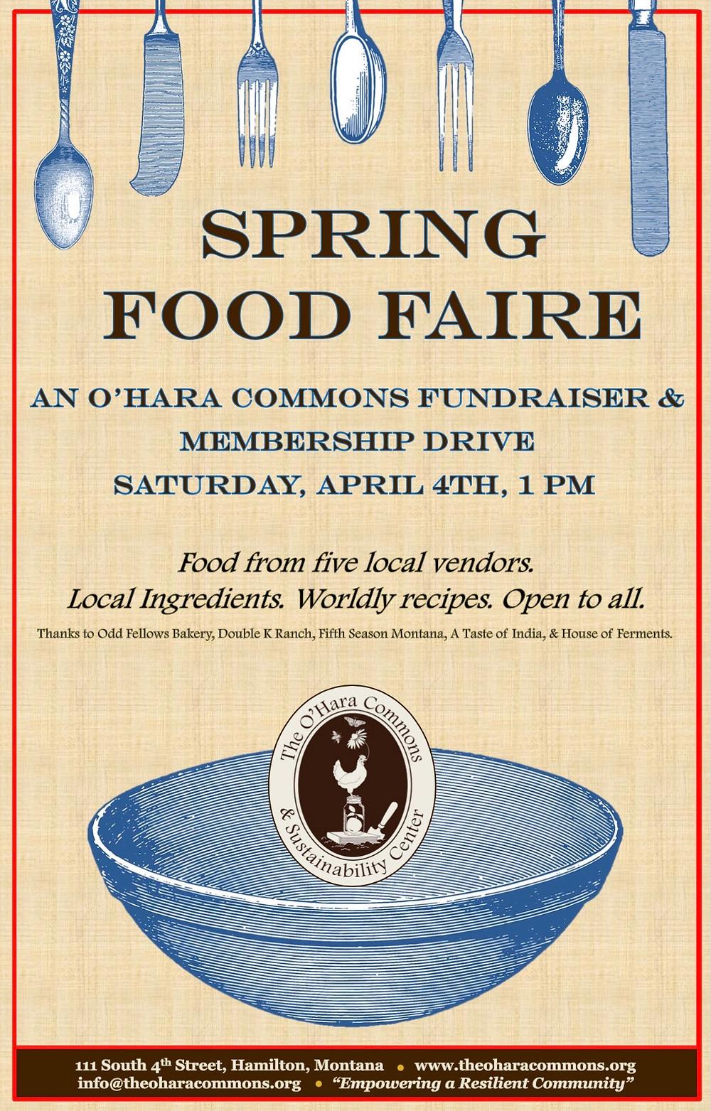 Spring Fundraiser & Open House