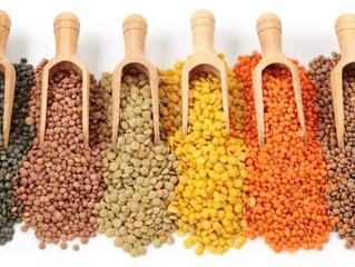 Lentils, Garbanzos & Black-eyed peas