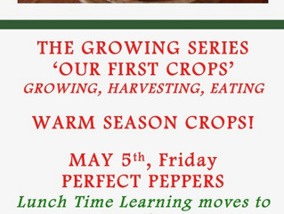 May Lunch Time Learning: Warm Season Crops